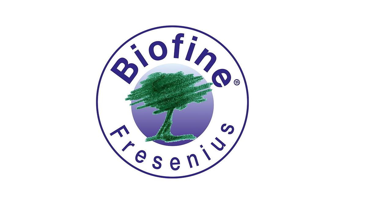 Логотипи Fresenius Biofine® та Nordic Ecolabel